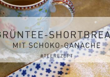 Teerezept: Grüntee-Shortbread mit Schokoganache