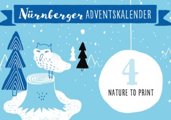 Nature to Print - Nürnberger Adventskalender #4