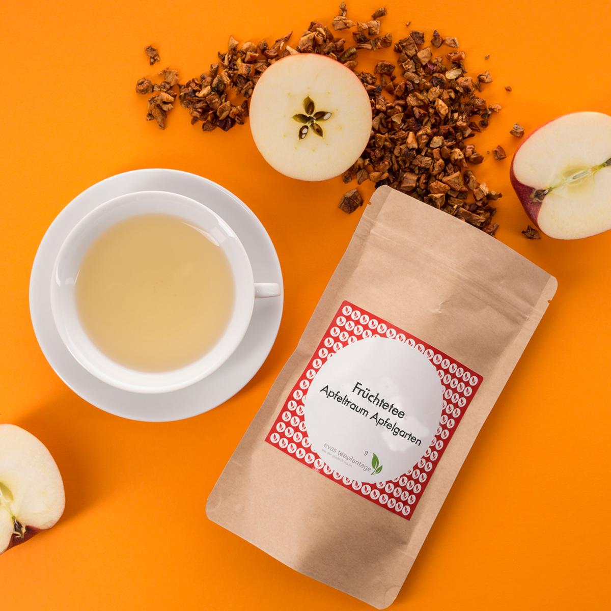 Früchtetee Apfeltraum Apfelgarten