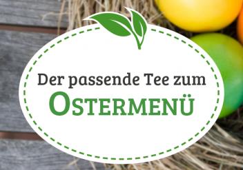 Tee zum Kochen - die besten Teesorten zum Ostermenü