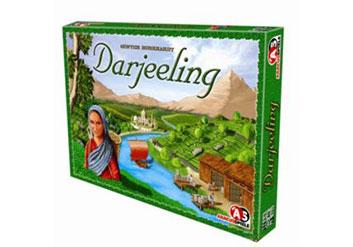Darjeeling Spiel von Abacusspiele, Spiel mit Tee
