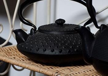 Gusseisen Kanne, Japanische Teekanne