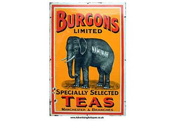 vintage teas, teewerbung, historische teewerbung
