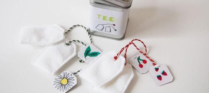 Teebeutel zum Selberbasteln