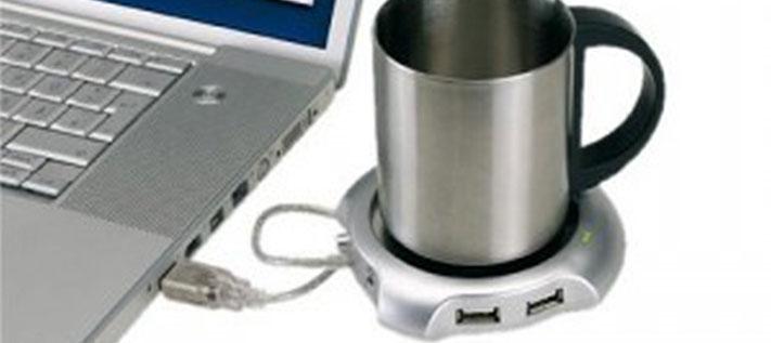 USB-Heizplatte für Tee und Kaffee