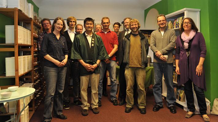 Ein Japaner in Nürnberg: Vom Besuch des japanischen Teebauern