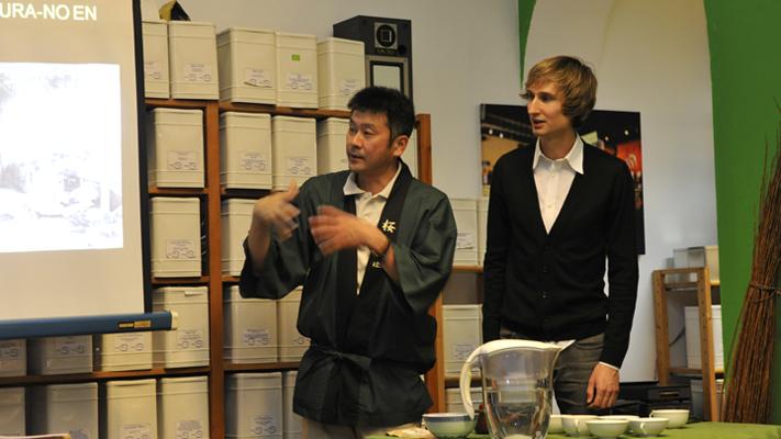 Teegeschäft, Tee Shop, Japanischer Teebauer, Teeseminar Nürnberg, Teeverkostung