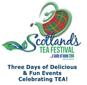 Scottland's Tea festival 22.-24.08.2014