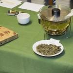 Chinesischer Grüntee beim Teeseminar