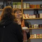 Zufriedene Teilnehmer im Nürnberger Teeseminar