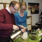 Teeausschank zum Teeseminar in Nürnberg