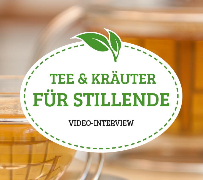 Kräuter und Tee in der Stillzeit.</br>Videointerview mit der Laktationsberaterin Christina Law-Mclean
