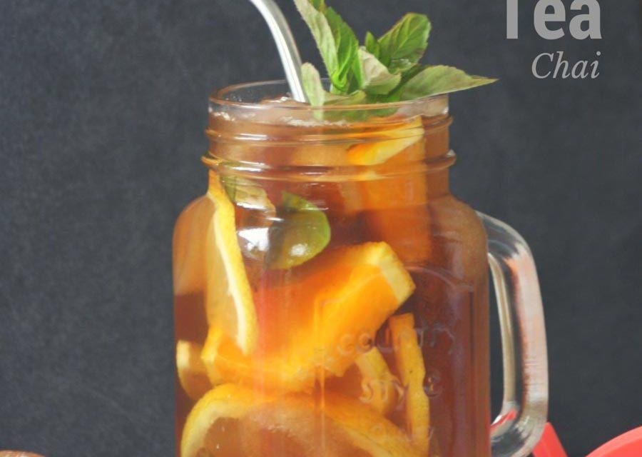 Chai Eistee (Tee-Rezept)