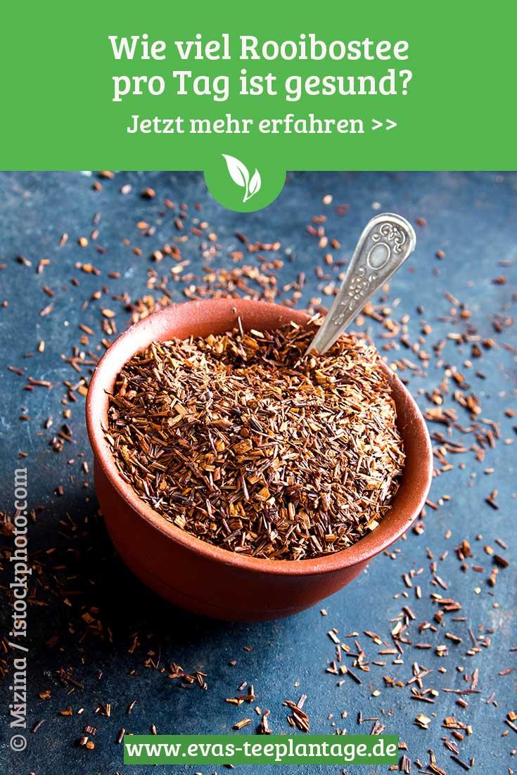 Wie viel Rooibos Tee pro Tag ist gesund? Zum Blogpost