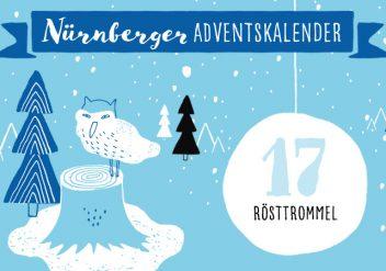 Nürnberger Adventskalender #17: Rösttrommel Kaffee