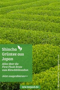 Shincha Tee aus Japan (First Flush). Artikel für später Merken in Pinterest