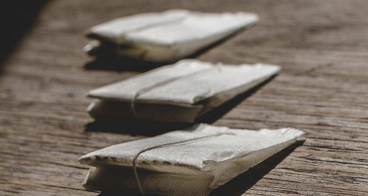 Inhalt und Qualität von Teebeuteln