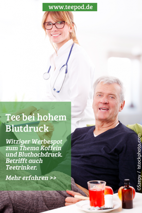 Grüner Tee bei Hohem Blutdruck. Kann das funktionieren?