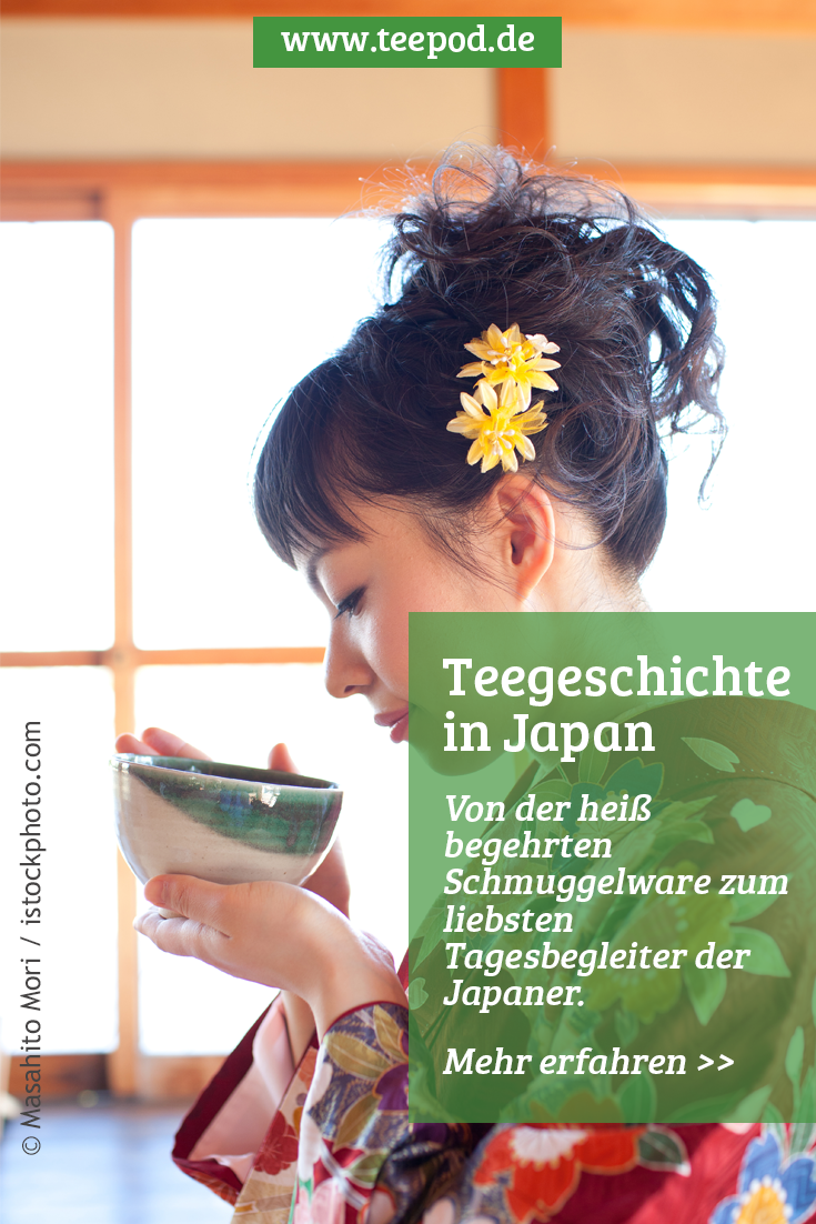 Teegeschichte in Japan