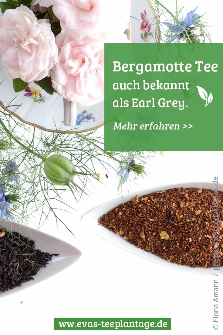Bergamotte Tee Earl Grey Pinterest