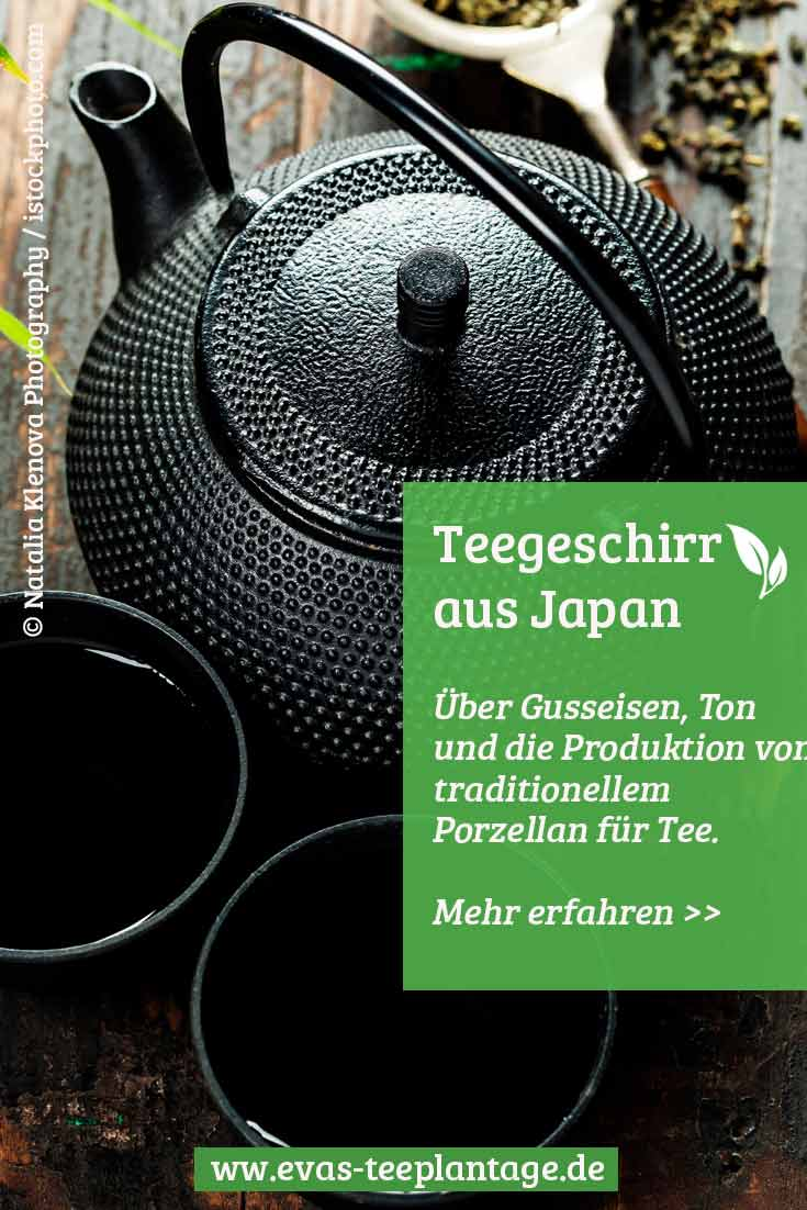 Teegeschirr in Japan