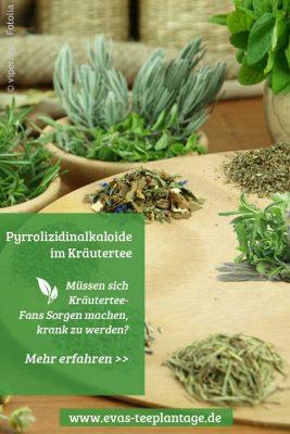 Pyrrolizidinalkaloide im Kräutertee.