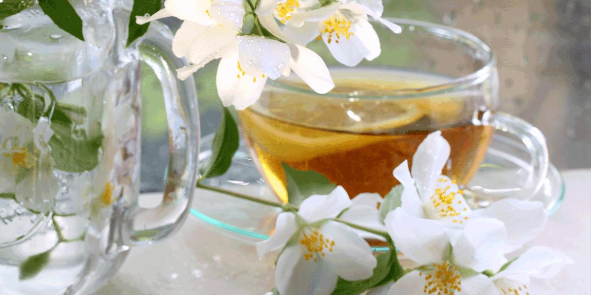 Jasmintee: Wie kommt das Aroma in den Tee?