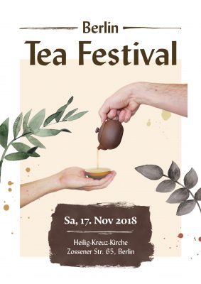 Poster zum Berlin Tea Festival 2018
