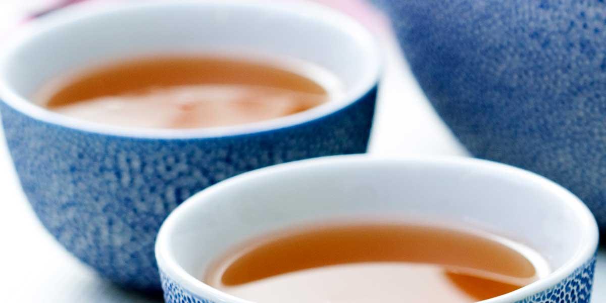Zubereitung von chinesischem Tee