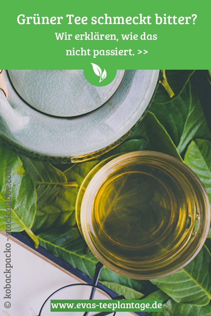 Grüner Tee Geschmack ist nicht bitter, wenn man ihn richtig zubereitet. Wir erklären, wie's funktioniert.