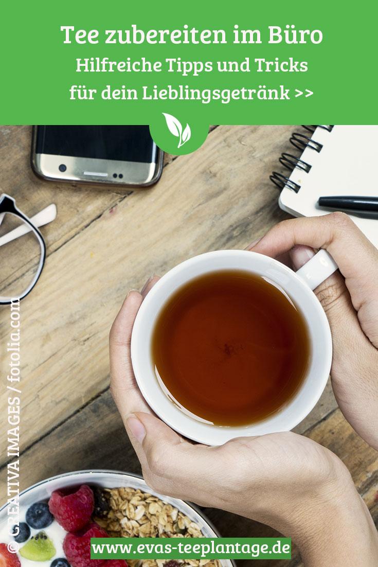 Loser Tee im Büro: Tipps und Tricks zur Zubereitung von Tee im Büro