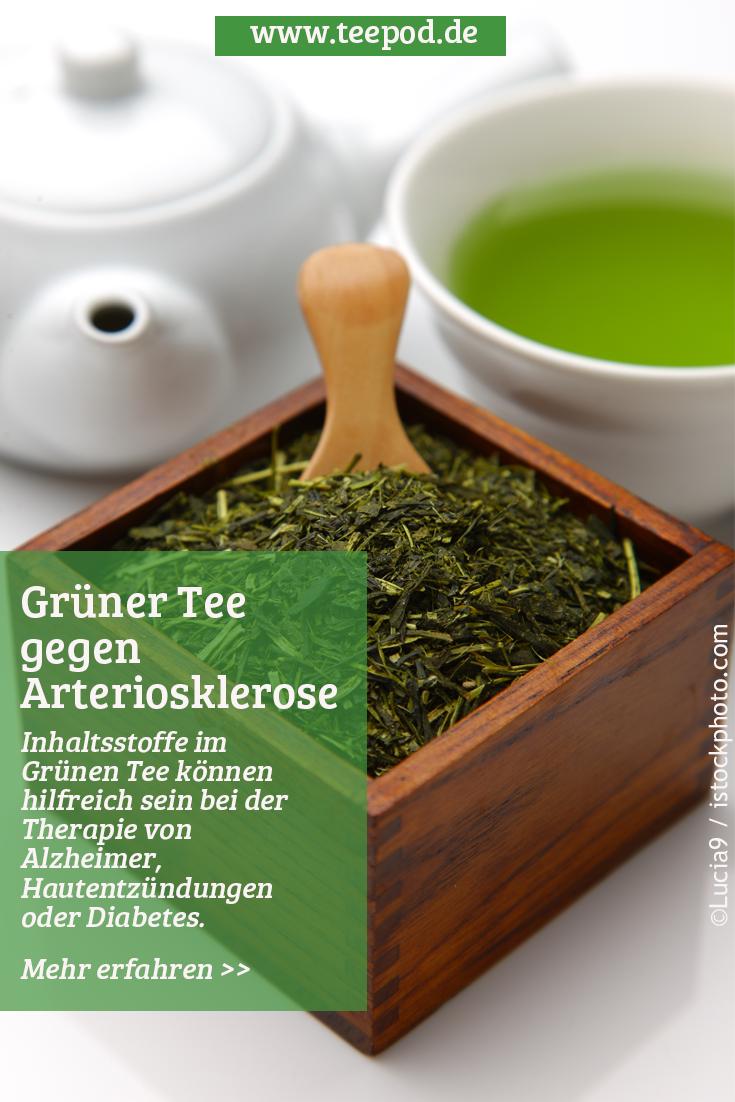 Grüner Tee gegen Arteriosklerose