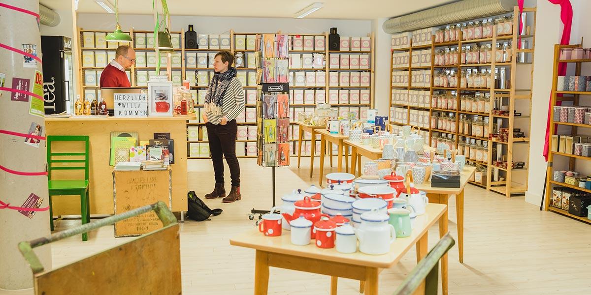Teekauf in Nürnberg: Ja wo bleibt sie denn?