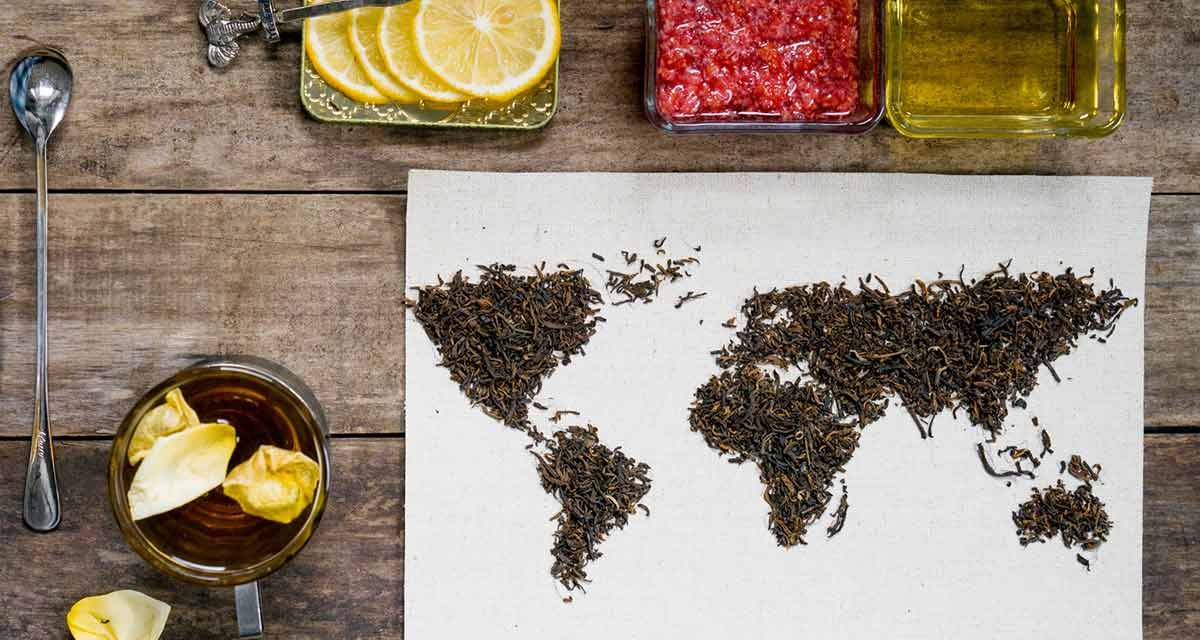 Teekultur in aller Welt oder Teetrinken als Kulturgut