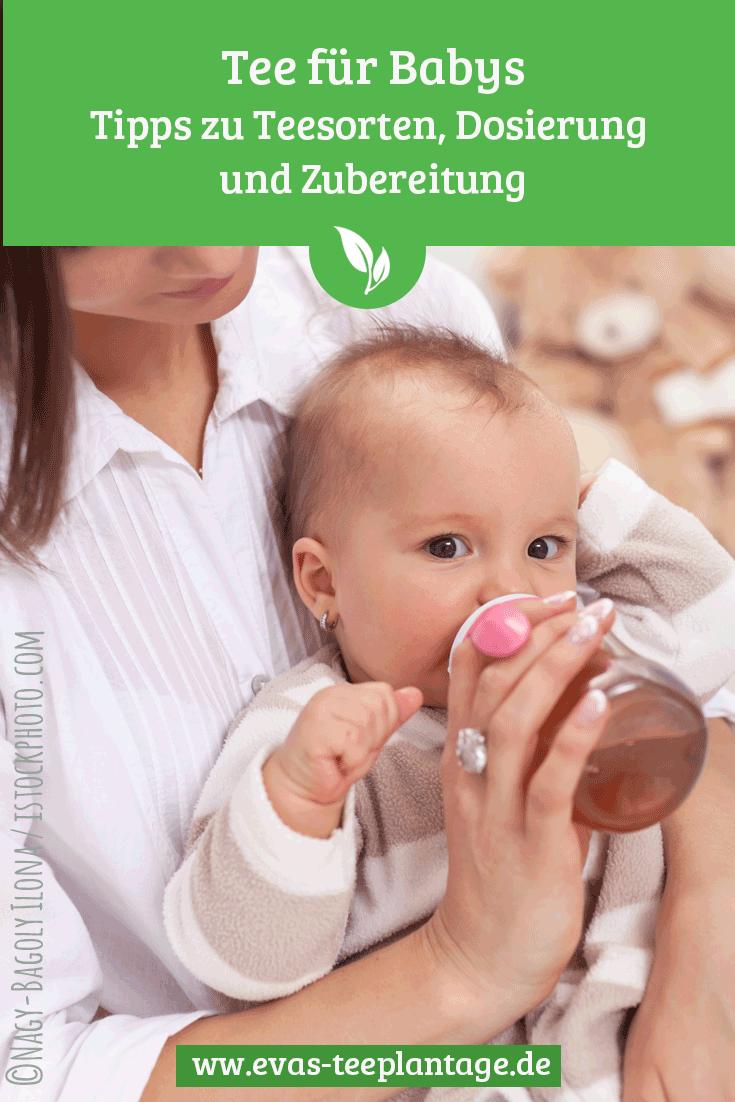 Tee für Babys: Über die richtigen Sorten, Dosierung und Zubereitungstipps